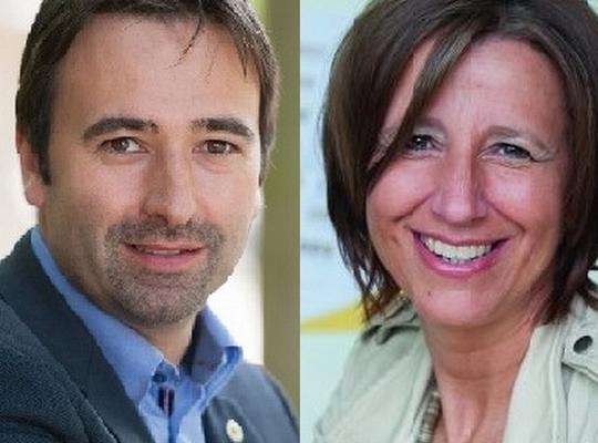 Koen Daniëls en Kathleen Krekels