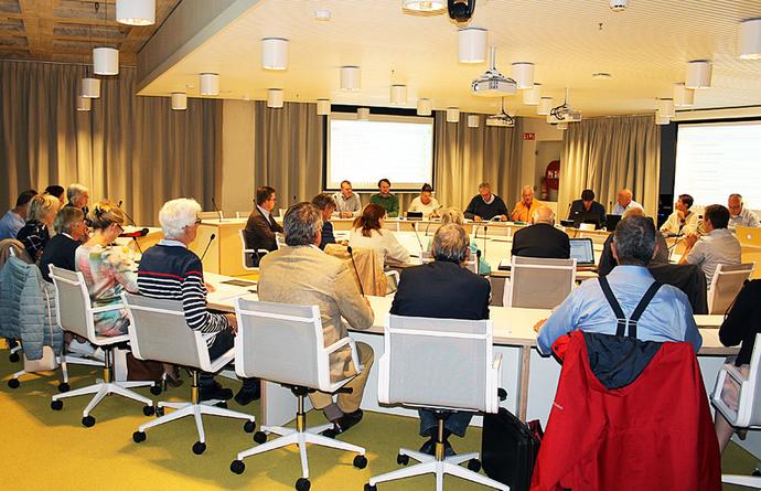Nieuw Raadszaal - NAC