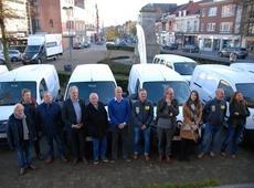 gemeentelijke voertuigen op electriciteit en aardgas