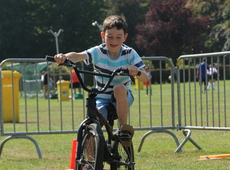 Behendigheidsproeven op de fiets