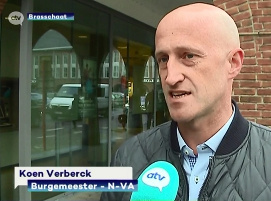 Koen Verberck op ATV