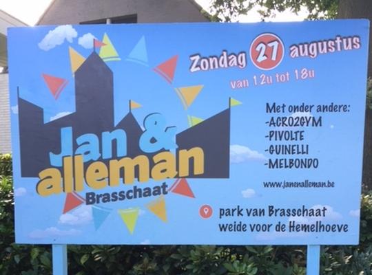 eerste bord Jan & Alleman 2017