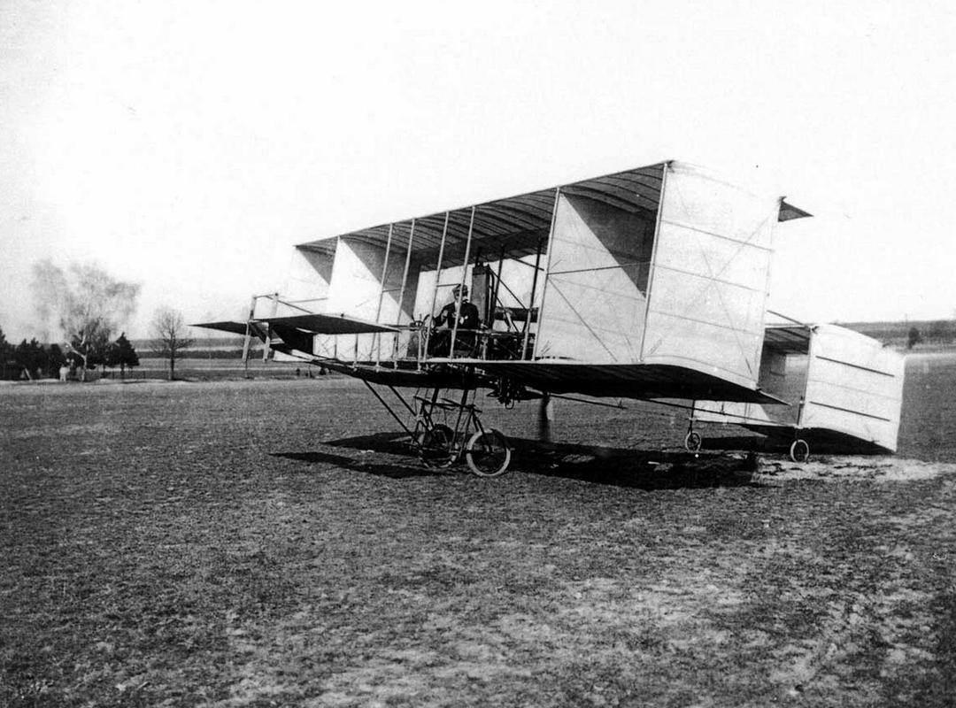 Luchtschip 'Cloud' van Pierre de Caters