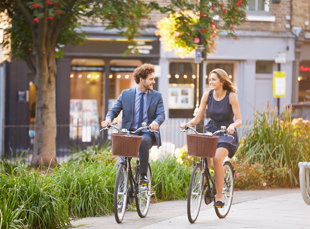 fietsen m en v