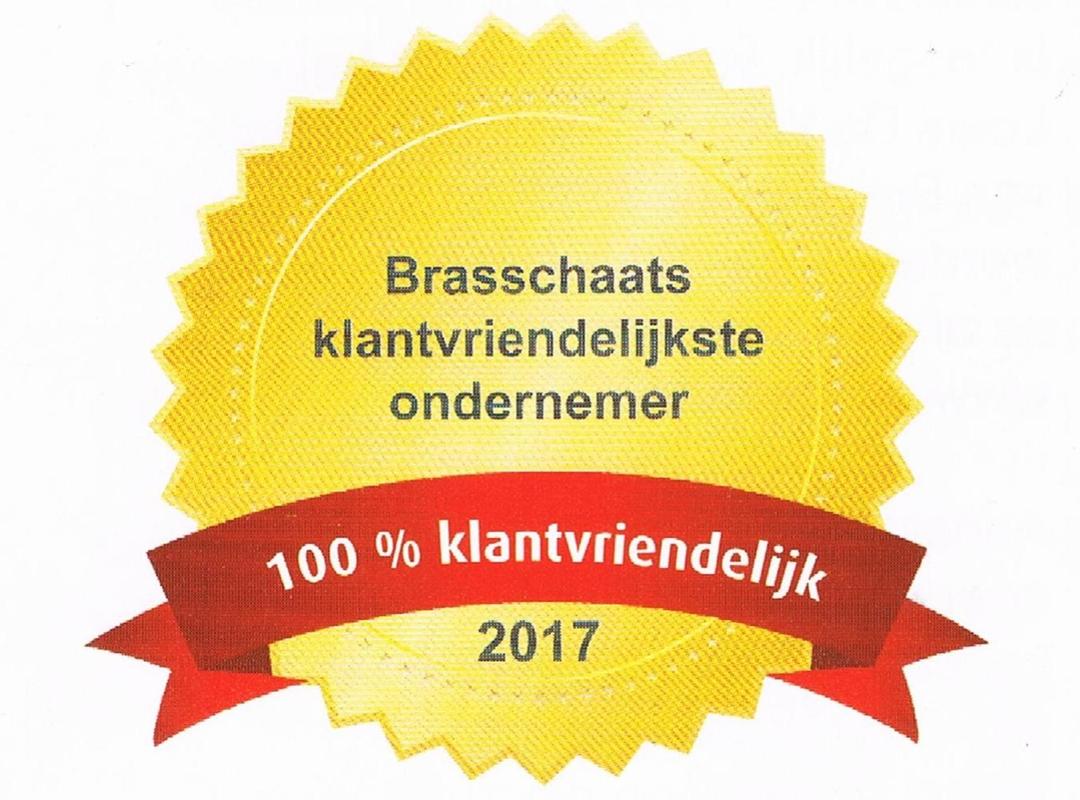 klandvriendelijkste ondernemer van Brasschaat 2017