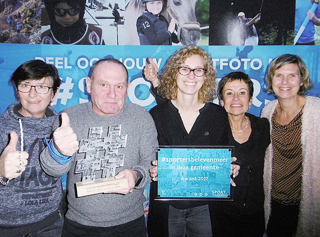 Brasschaat wint de #sportersbelevenmeer-award 2017
