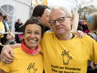 Adinda Van Gerven en partner Miel